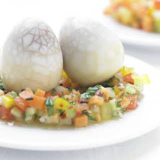 Marbled Quail Eggs.