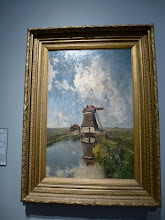 Photo: Gabriel's famous windmill painting