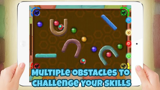Rolling Marbles Fun- screenshot thumbnail