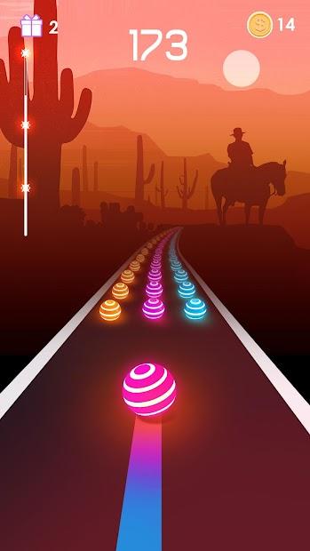 Dancing Road: Color Ball Run! Android App Screenshot