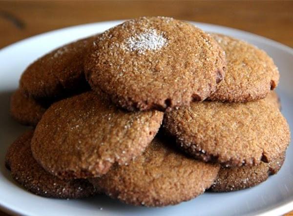 Gingersnap Cookies & Cinnamon Mocha Recipe