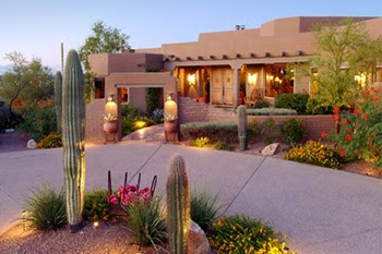 real estate Tucson home yard image