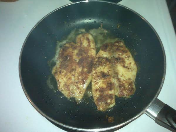 Pan-fried Low-sodium Seasoned Tilapia