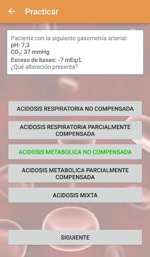 Gasometru00eda arterial  screenshots 4