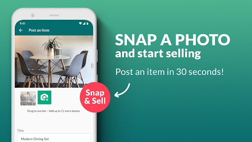 OfferUp: Buy. Sell. Letgo. Mobile marketplace screenshot 1