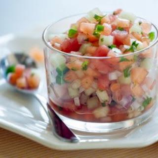 Fresh Melon Salsa
