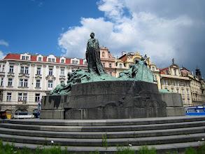 Photo: The Jan Huse memorial