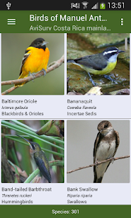 Bird Guide - Manuel Antonio NP- screenshot thumbnail