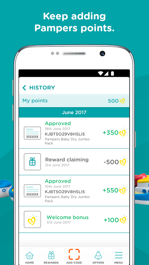 Pampers Rewards: Parents Club- screenshot
