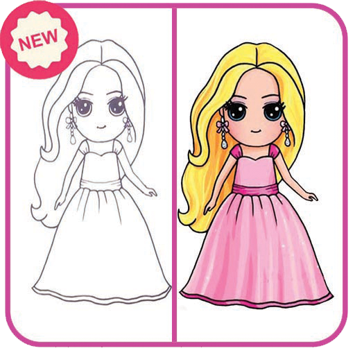How To Draw Cute Girls Easy Apk Download Apkpure Co
