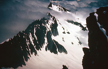 Photo: 24. Mt. Buckner and Ripsaw Ridge from summit of Mt. Sahale.
