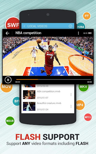 Dolphin Video - Flash Player
