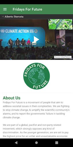 Fridays For Future screenshot 1