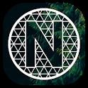 Pixel Net White - Icon Pack icon
