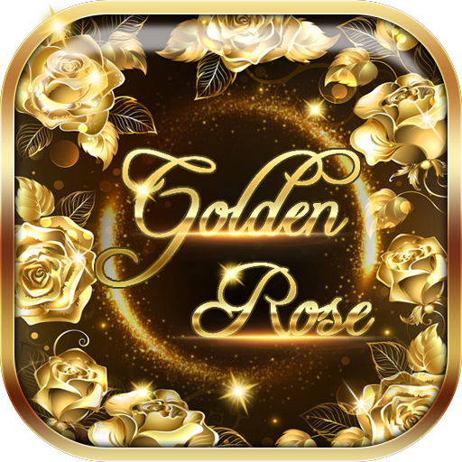 Golden rose diamond Keyboard