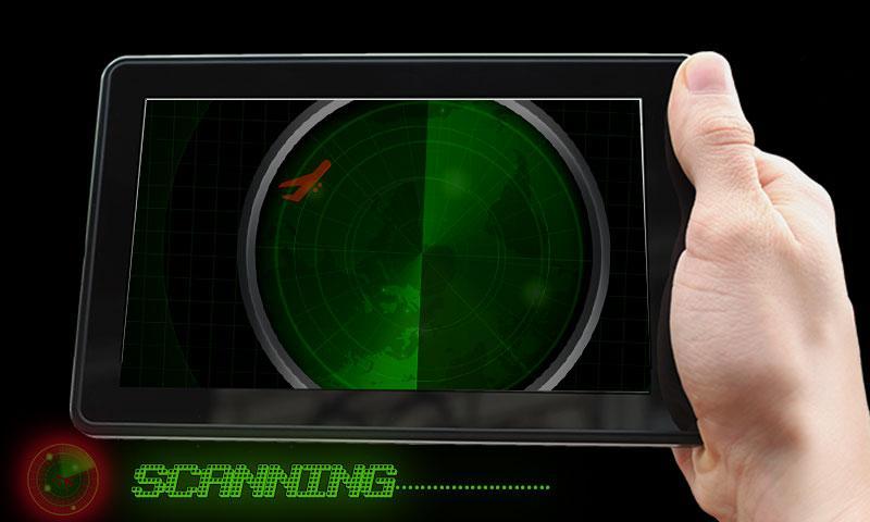 android Radar Scanner 3d Sim Prank Screenshot 2