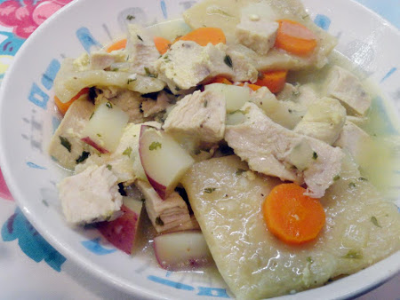 Chicken Pot Pie (the real Pennsylvania Dutch Way!) Recipe