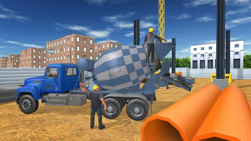 建設トラック輸送