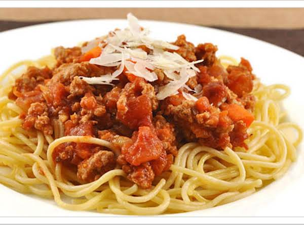Spaghetti With Meat Sauce Recipe