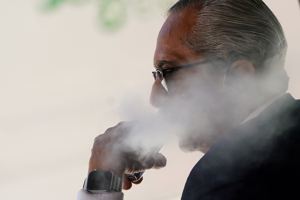 Vaping linked to a rare lung disease normally found in metal workers