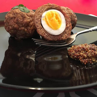 Low Carb Scotch Eggs with Turkey Fennel Sausage Recipe