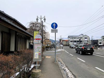 上の橋バス停(右まわり)