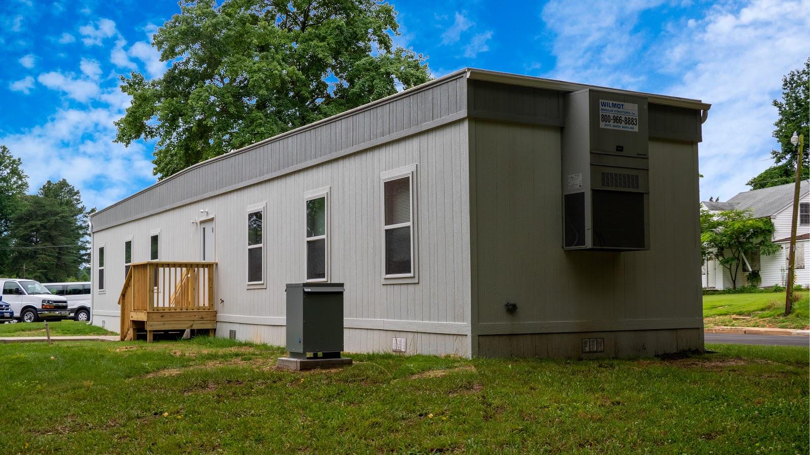Exterior of a modular building outpatient treatment center