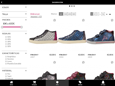 Zacaris Zapatos Online screenshot 3