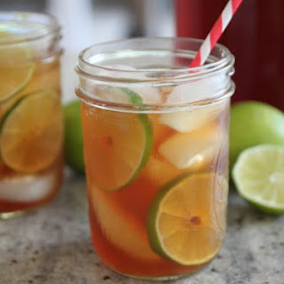 Lime Tea Punch.
