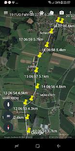 GPS Time Tracker - Logbook- screenshot thumbnail