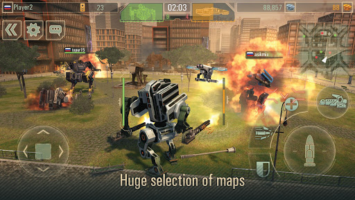 WWR: Warfare Robots Game 3.23.1 de.gamequotes.net 3