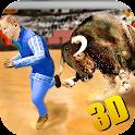 Wild Bull Attack Simulator 3D icon