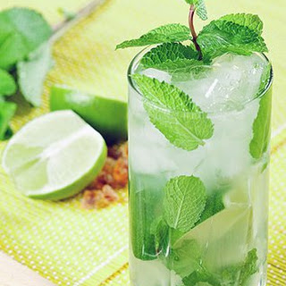 Lemongrass Mojitos.