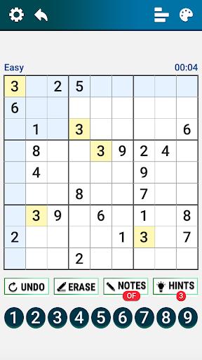 Classic Sudoku : Free Logic Number Puzzle Game apkdebit screenshots 1