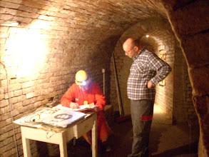 Photo: Erdstallvermessung Gaweinstal am 2.11.08. Da staunt der Laie. http://erdstall.heim.at