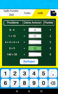Math ist Flinker + Screenshot