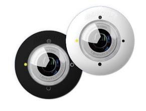 Photo: Mobotix S15 FlexMount Camera Sensors.