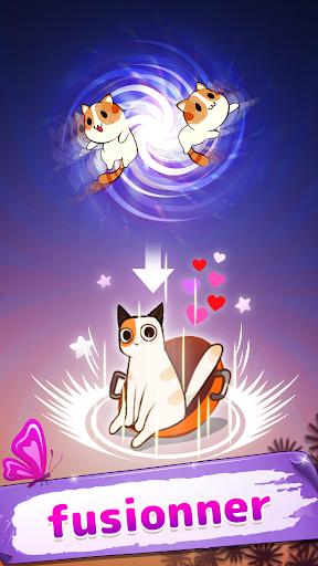 Code Triche Meowaii - Fusionner des chats mignons APK MOD screenshots 1