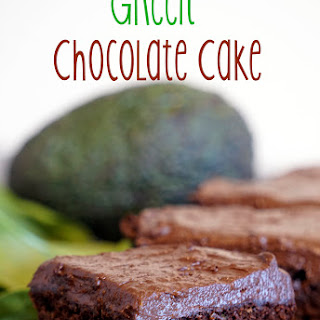 Green Chocolate Cake