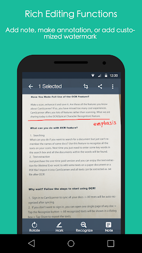 CamScanner - Phone PDF Creator app (apk) free download for Android/PC/Windows screenshot