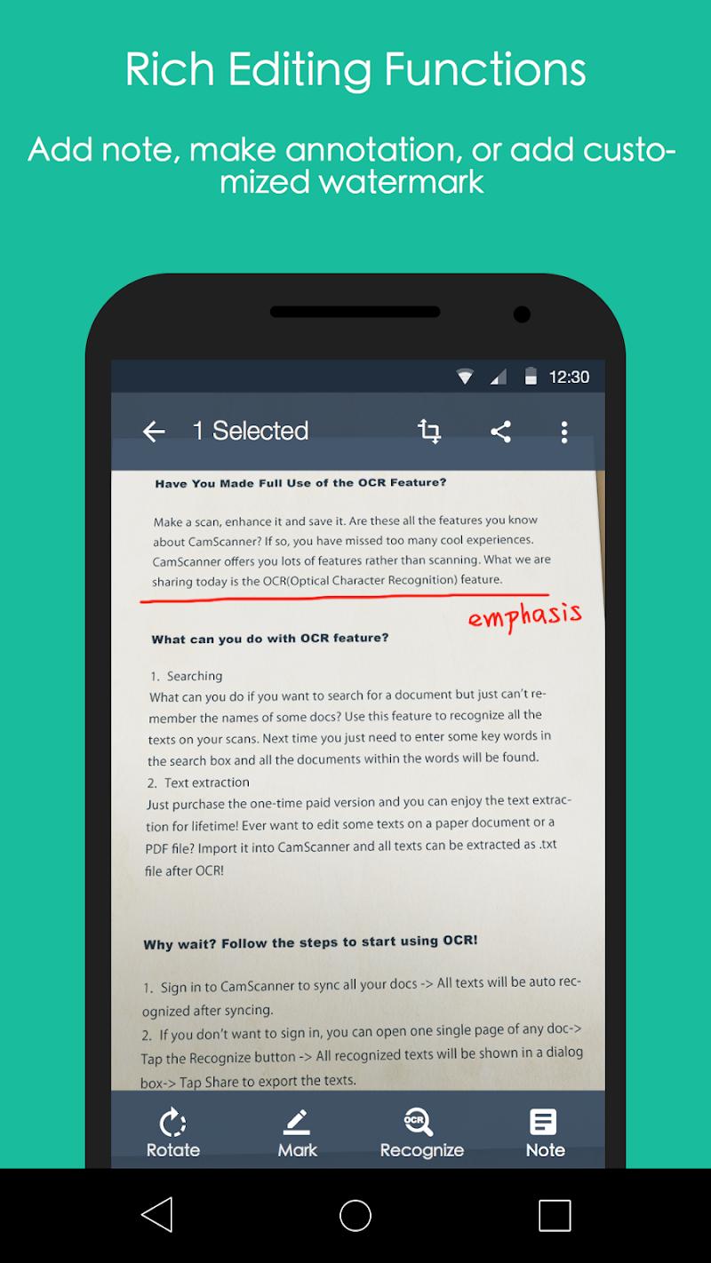 CamScanner - Phone PDF Creator Screenshot 5