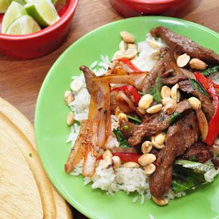 Thai Chili Beef (Neua Pad Prik).
