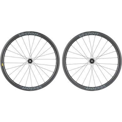Vision SC40 Wheelset - 700, QR/15 x 100/130mm, Center-Lock, HG 11