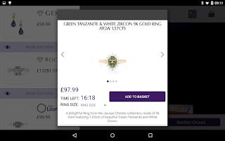 Screenshot of Gemporia Jewelry Auctions