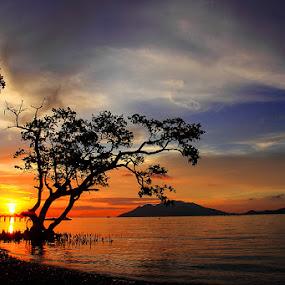 Nangahale by Marcell Boli - Landscapes Sunsets & Sunrises ( bali, sumba, raja amapat, ubud, flores, indonesia, komodo, travel, frightened tourist, alor, monkey forrest )
