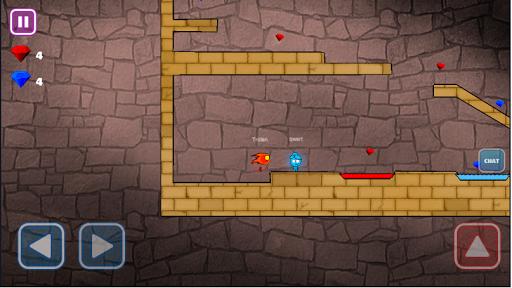 Feu et eau Online Multiplayer  captures d'écran 2