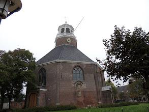 Photo: De Van Harenskerk in Sint Annaparochie.