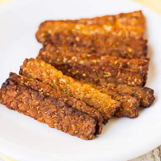 Smoky Baked Tempeh Bacon Recipe