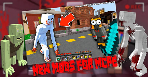 New SCP 096 Mod For MCPE - Horror Foundation Craft ss1