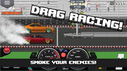 Pixel Car Racer 1.1.41 (Mod Money/Unlocked)
